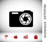 photo camera icon  vector best...