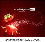 christmas vector background... | Shutterstock .eps vector #63796936