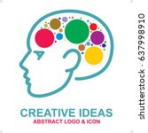 creative ideas abstract  logo...   Shutterstock .eps vector #637998910