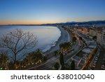 city of nice | Shutterstock . vector #638010040