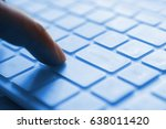 press on keyboard | Shutterstock . vector #638011420