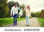 family  parenthood  adoption... | Shutterstock . vector #638045008