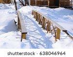 beautiful wooden bridge from...