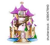 Pink Fairytale Castle. Fabulou...