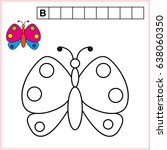 Coloring Page And Write The...