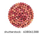 wine corks set from red wine ...