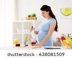 healthy eating  cooking ... | Shutterstock . vector #638081509
