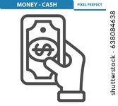 money   cash icon. professional ... | Shutterstock .eps vector #638084638