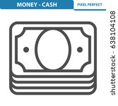 money   cash icon. professional ... | Shutterstock .eps vector #638104108