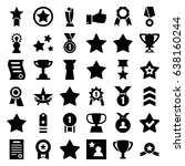 best icons set. set of 36 best... | Shutterstock .eps vector #638160244