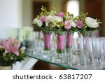 Bridesmaids bouquets for a...