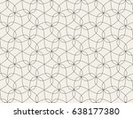 abstract geometric pattern with ... | Shutterstock .eps vector #638177380