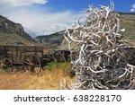 cody  wyoming   july 3  2016  ... | Shutterstock . vector #638228170