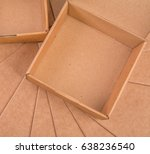 carton box at carton background | Shutterstock . vector #638236540