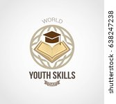 world youth skills day vector... | Shutterstock .eps vector #638247238