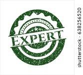 green expert distress rubber... | Shutterstock .eps vector #638256520