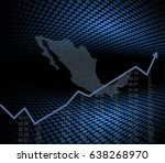the mexico finance and economy... | Shutterstock .eps vector #638268970