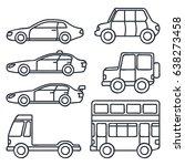 various set of transportation