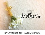 mother's day word concept with... | Shutterstock . vector #638295403