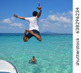 krabi  thailand mar 10  tourist ...   Shutterstock . vector #638296234
