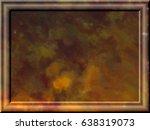 watercolor multicolored... | Shutterstock . vector #638319073