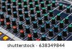 Media Sound Mixer Button Line