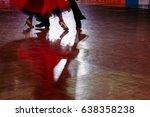 Motion Blur Of Couple Dancers...