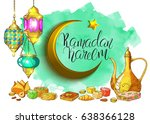 template vector greeting card...   Shutterstock .eps vector #638366128