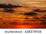 beautiful dramatic dark red... | Shutterstock . vector #638378938