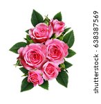 Pink Rose Flowers Arrangement...