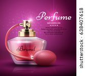 perfume product vector...