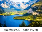 Mountain Lake Landscape. Lake...
