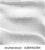 halftone effect pattern.... | Shutterstock .eps vector #638446384