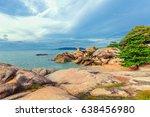 sunrise on the island of koh... | Shutterstock . vector #638456980
