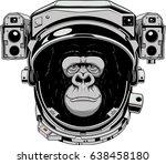 vector illustration of a funny... | Shutterstock .eps vector #638458180