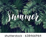 Summer Tropical Vector...