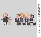 3d illustration. businessman...   Shutterstock . vector #638490193