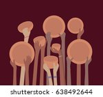 starving famine hands with... | Shutterstock .eps vector #638492644