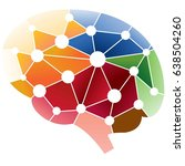 cognitive system of the human... | Shutterstock .eps vector #638504260