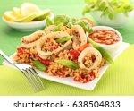 Squid Or Calamari And Couscous...