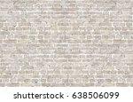 Vintage Whitewashed Brick Wall...