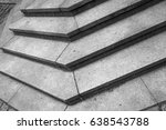 abstract architecture fragment. ... | Shutterstock . vector #638543788