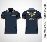 color men polo shirts. design... | Shutterstock .eps vector #638554798