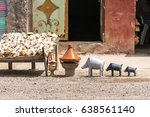 souvenirs from morocco  also...   Shutterstock . vector #638561140