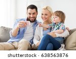 family  technology and people... | Shutterstock . vector #638563876