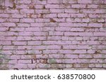 the old brick wall texture...   Shutterstock . vector #638570800