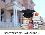 campus of college for back to... | Shutterstock . vector #638580238