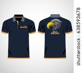color men polo shirts. design... | Shutterstock .eps vector #638593678