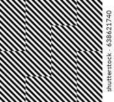 vector seamless pattern.... | Shutterstock .eps vector #638621740