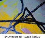 mixed media   art   multicolor... | Shutterstock . vector #638648539